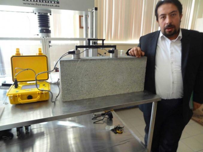 VU-CON Beton Kalınlık Testt Teknolojisi